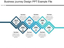 Business Journey Design Ppt Example File