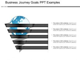 Business Journey Goals Ppt Examples