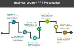 Business Journey PPT Presentation