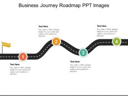 Business Journey Roadmap PPT Images