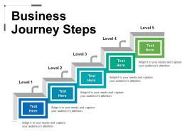 Business Journey Steps PPT Images Gallery