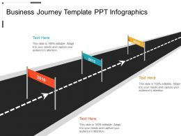 Business Journey Template PPT Infographics