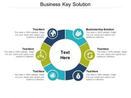 Business Key Solution Ppt Powerpoint Presentation Professional Graphics Design Cpb