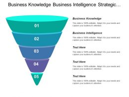 Business Knowledge Business Intelligence Strategic Planning Change Management