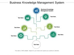 Business Knowledge Management System Ppt Powerpoint Show Good Cpb