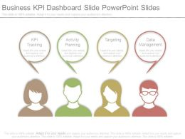 Business Kpi Dashboard Slide Powerpoint Slides