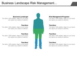 Business Landscape Risk Management Programs Hedge Fund Analysis Cpb