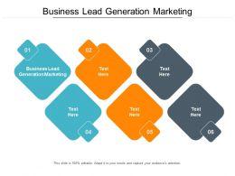 Business Lead Generation Marketing Ppt Powerpoint Presentation Inspiration Master Slide Cpb