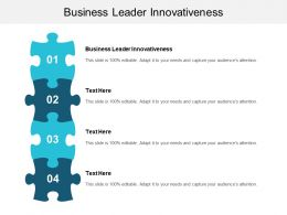Business Leader Innovativeness Ppt Powerpoint Presentation File Graphics Cpb