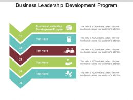 Business Leadership Development Program Ppt Powerpoint Presentation File Show Cpb