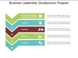 Business Leadership Development Program Ppt Powerpoint Presentation File Show Cpb