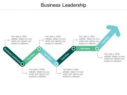 Business Leadership Ppt Powerpoint Presentation Slides Guidelines Cpb