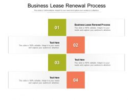 Business Lease Renewal Process Ppt Powerpoint Presentation Pictures Styles Cpb