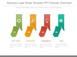 Business Legal Model Template Ppt Example Download
