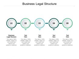Business Legal Structure Ppt Powerpoint Presentation Portfolio Deck Cpb
