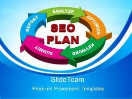 Business Level Strategy Definition Powerpoint Templates Seo Plan Ppt Slides