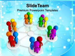 Business Level Strategy Definition Templates Diversity Networking Teamwork Ppt Processd Powerpoint