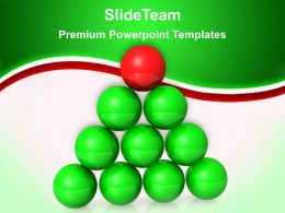 Business Level Strategy Powerpoint Templates Be Different Leadership Ppt Slides