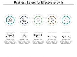 Business Levers For Effective Growth
