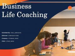 Business Life Coaching Powerpoint Presentation Slides