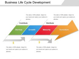 Business Life Cycle Development Powerpoint Guide