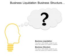 Business Liquidation Business Structure Management Skills Training Program