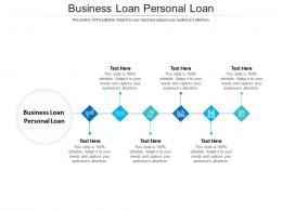 Business Loan Personal Loan Ppt Powerpoint Presentation Layouts Influencers Cpb