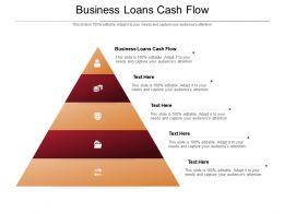Business Loans Cash Flow Ppt Powerpoint Presentation Pictures Brochure Cpb