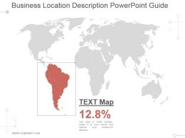 Business Location Description Powerpoint Guide