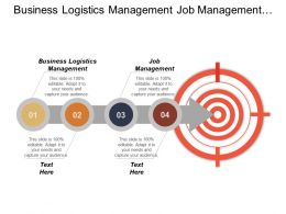 Business Logistics Management Job Management Employee Performance Tool Cpb