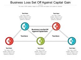 Business Loss Set Off Against Capital Gain Ppt Powerpoint Presentation Infographics Cpb