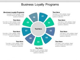Business Loyalty Programs Ppt Powerpoint Presentation Visual Aids Icon Cpb