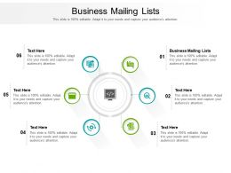 Business Mailing Lists Ppt Powerpoint Presentation Infographic Template Graphics Cpb