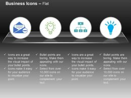 Business Mails Idea Generation Business Network Ppt Icons Graphics