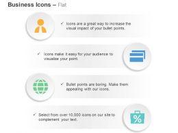 Business Man Folders Global Agenda Percentage Analysis Ppt Icons Graphics