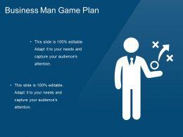 Business Man Game Plan