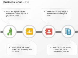 Business Man Teamwork Folders Management Ppt Icons Graphics
