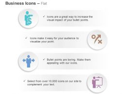 Business Man With Dollar Right Wrong Diversity Analysis Ppt Icons Graphics