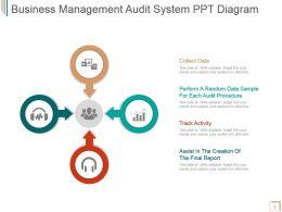 Business Management Audit System Ppt Diagram