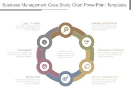 Business Management Case Study Chart Powerpoint Templates