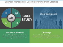 Business Management Case Study Powerpoint Graphics
