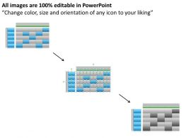 Business Management Consulting Ideal Plans Risk Matrix Chart Powerpoint Slides 0527