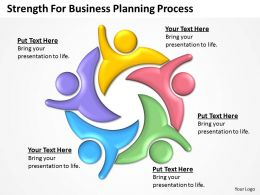 Business Management Consulting Strength For Planning Process Powerpoint Slides 0527