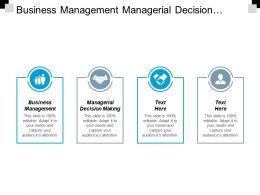 Business Management Managerial Decision Making Environmental Management Solution Cpb