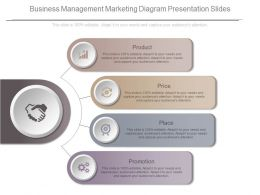 Business Management Marketing Diagram Presentation Slides