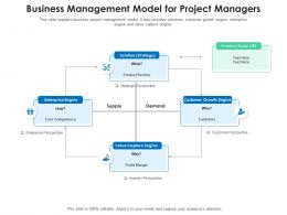 Business Management Model For Project Managers