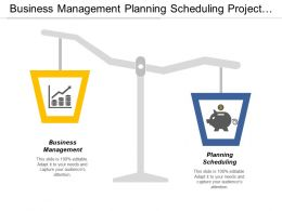Business Management Planning Scheduling Project Management Challenges Solutions Cpb