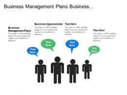 Business Management Plans Business Opportunities Customer Satisfaction Strategic Management Cpb