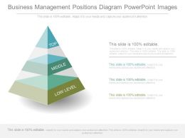Business Management Positions Diagram Powerpoint Images