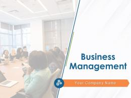 Business Management Powerpoint Presentation Slides